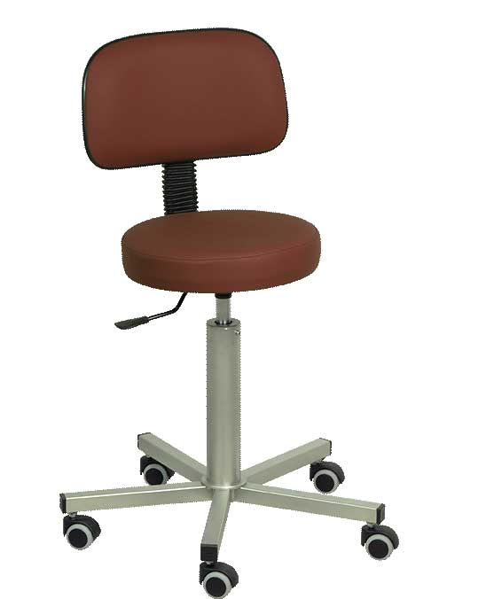 H-149 Stool With Backrest