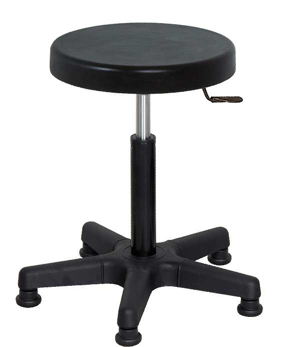 H-157 Stool with Injected Rubber