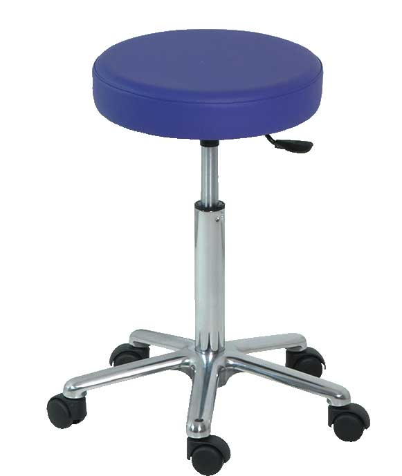 H-186 Stool with Upholestered Seat