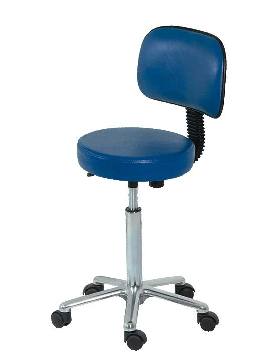 H-189 Stool with Backrest