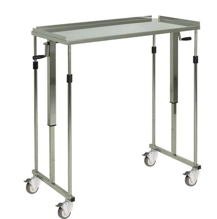H-227 Mesa para instrumental elevable mecánicamente