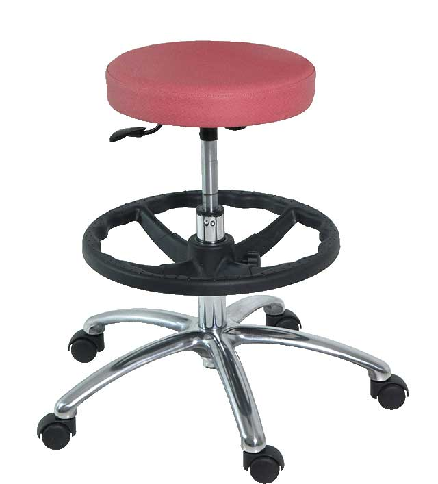 H-187 Stool with Injected Rubber