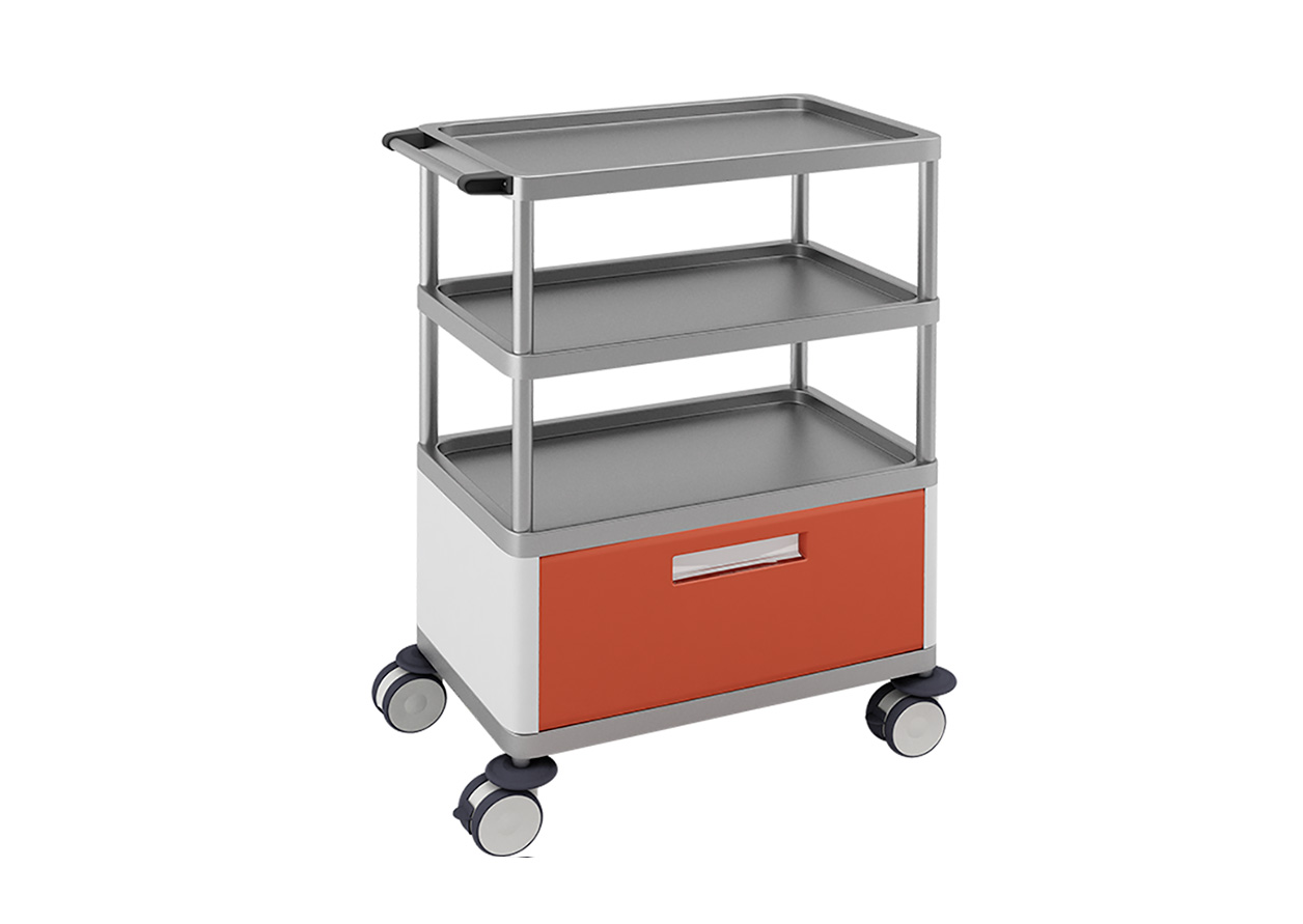 H-751 Multifunctional Trolley with 1 Drawer